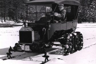 Ford Model T Snowmobile_America's