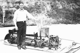 Carl Eliason-snowmobile