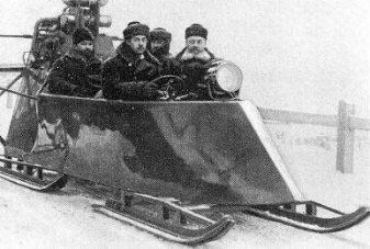 igor sikorsky_snowmobile_second